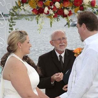 Wedding Couple at Sams Chowderhouse